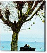 An Autumn Affair Acrylic Print