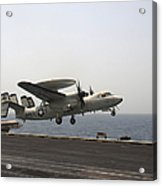 An E-2c Hawkeye Takes Acrylic Print
