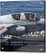 An Ea-6b Prowler During Flight Acrylic Print