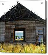 An Empty Barn  Acrylic Print