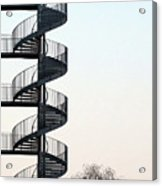 An Escape Stairway Acrylic Print by Gerard Hermand