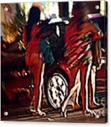 An Evening In Miami Acrylic Print