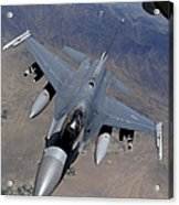 An F-16 Fighting Falcon Returns Acrylic Print