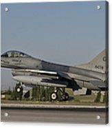 An  F-16c Of The Pakistan Air Force Acrylic Print