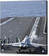 An Fa-18d Hornet Launches Acrylic Print