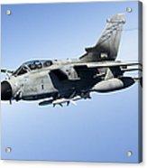 An Italian Air Force Tornado Ids Acrylic Print by Gert Kromhout