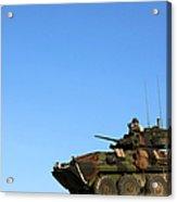 An Lav-25 Armament Reconnaissance Acrylic Print