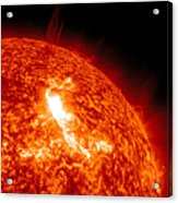 An M8.7 Class Flare Erupts On The Suns Acrylic Print