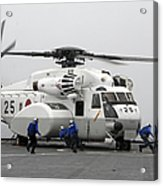 An Mh-53e Super Stallion Helicopter Acrylic Print