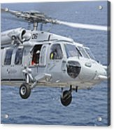 An Mh-60s Sea Hawk Search And Rescue Acrylic Print