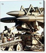 An Mim-23b Hawk Surface-to-air Missile Acrylic Print