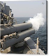 An Mk-46 Recoverable Exercise Torpedo Acrylic Print
