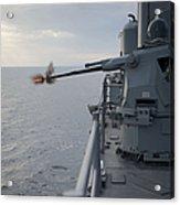 An Mk38 Mod 2 25mm Machine Gun System Acrylic Print