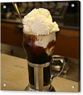 An Old-fashioned Ice Cream Soda Awaits Acrylic Print by Stephen St. John
