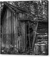An Old Sauna Acrylic Print