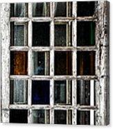 An Old Window Pane Acrylic Print