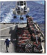 An Sa-330j Puma Helicopter Picking Acrylic Print
