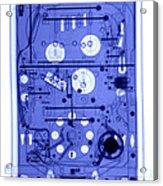 An X-ray Of A Pinball Machine Acrylic Print