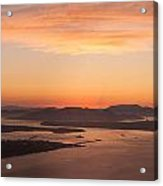 Anacortes Islands Sunset Acrylic Print