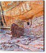 Anasazi Indian Ruin - Cedar Mesa Acrylic Print