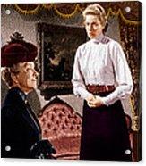 Anastasia, From Left Helen Hayes Acrylic Print