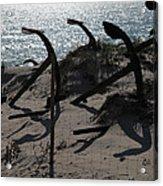 Anchor Beach 15 Acrylic Print