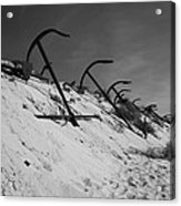 Anchor Beach 2 Acrylic Print