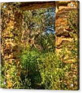Ancient Doorway Acrylic Print