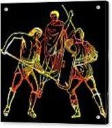 Ancient Roman Gladiators Acrylic Print