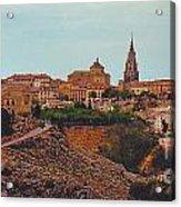Ancient Spanish City Acrylic Print