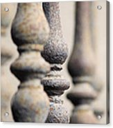 Ancient Spindles Acrylic Print