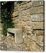 Ancient Wall Acrylic Print