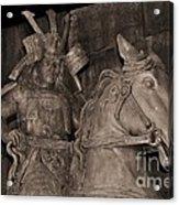 Ancient Warrior Acrylic Print