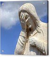 And Jesus Wept IIi Acrylic Print