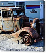 ...and Rotate The Tires Acrylic Print