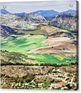 Andalucia Countryside Acrylic Print