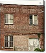 Andalusia Grocery Co Acrylic Print