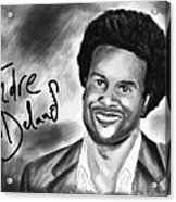 Andre Delano Acrylic Print by Kenal Louis