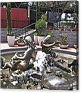 Andrea's Fountain At Ghirardelli Square Acrylic Print