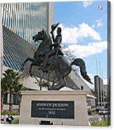 Andrew Jackson Statue Acrylic Print