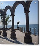 Angel At Puerto Vallarta Acrylic Print