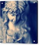 Angel Acrylic Print by Bret Worrell