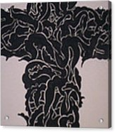 Angel Cross  Acrylic Print by Lee Thompson