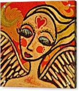 Angel Dreaming Acrylic Print