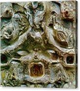 Angel Gabriel 1984 Acrylic Print by Glenn Bautista