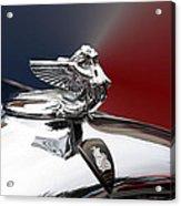 Angel Hood Ornament Acrylic Print