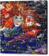 Angel Koi Blend Acrylic Print