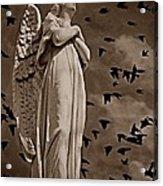 Angel Of Stone S Acrylic Print