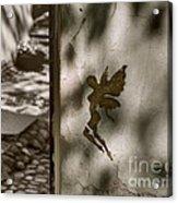 Angel Of Tallinn Acrylic Print by Ari Salmela