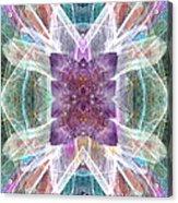 Angel Of The Crystal World Acrylic Print